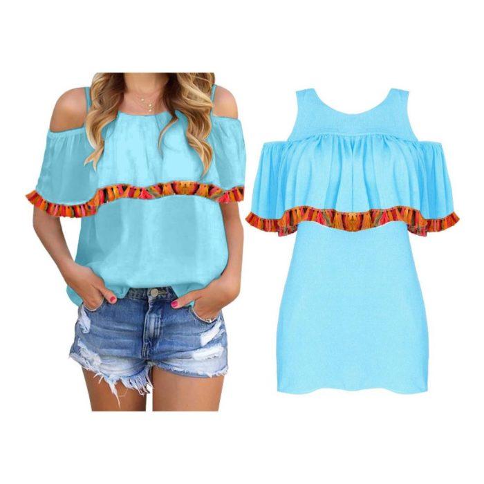 popularne bluzki hiszpanki