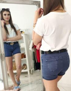 spodenki damskie jeansowe